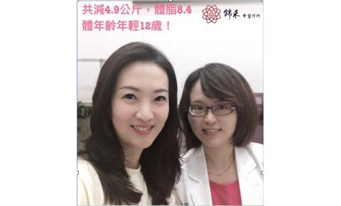 【減重成果分享3】錦禾中醫院長 陳怡蓉醫師